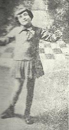 Édith Piaf en su infancia