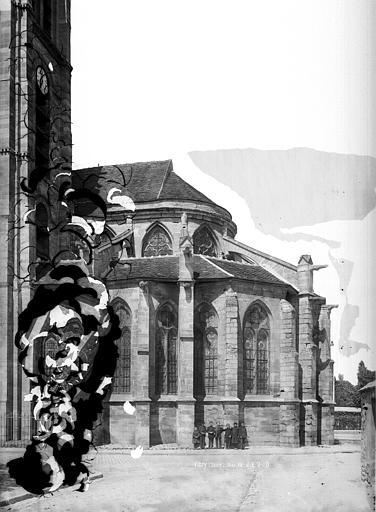 file eglise saint germain abside c t sud vitry sur. Black Bedroom Furniture Sets. Home Design Ideas