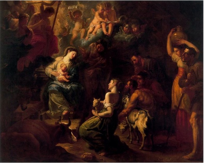 Erasmus Quellinus II - The Adoration of the Shepherds