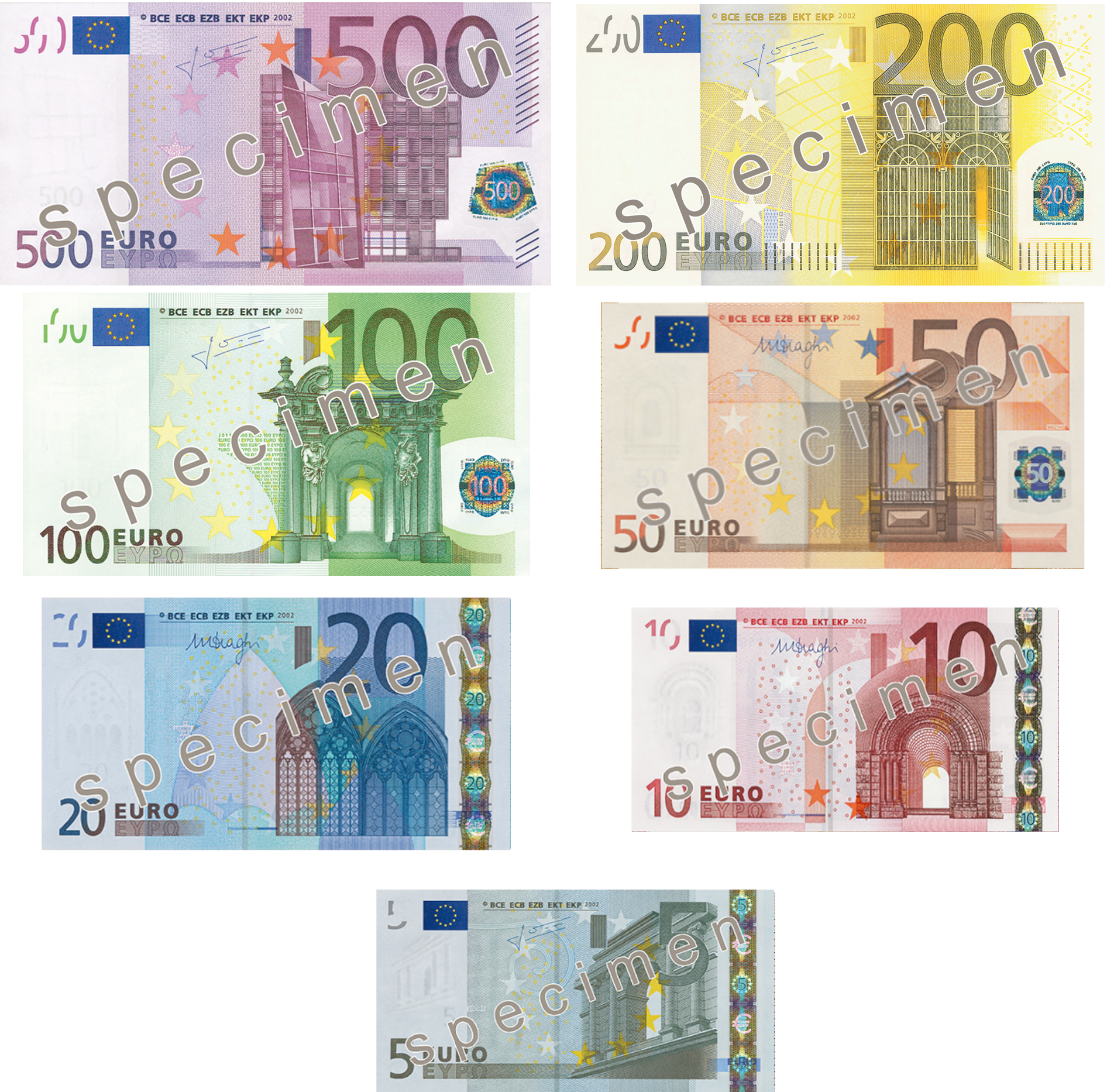 File:Euro Series Banknotes (old).png - Wikimedia Commons