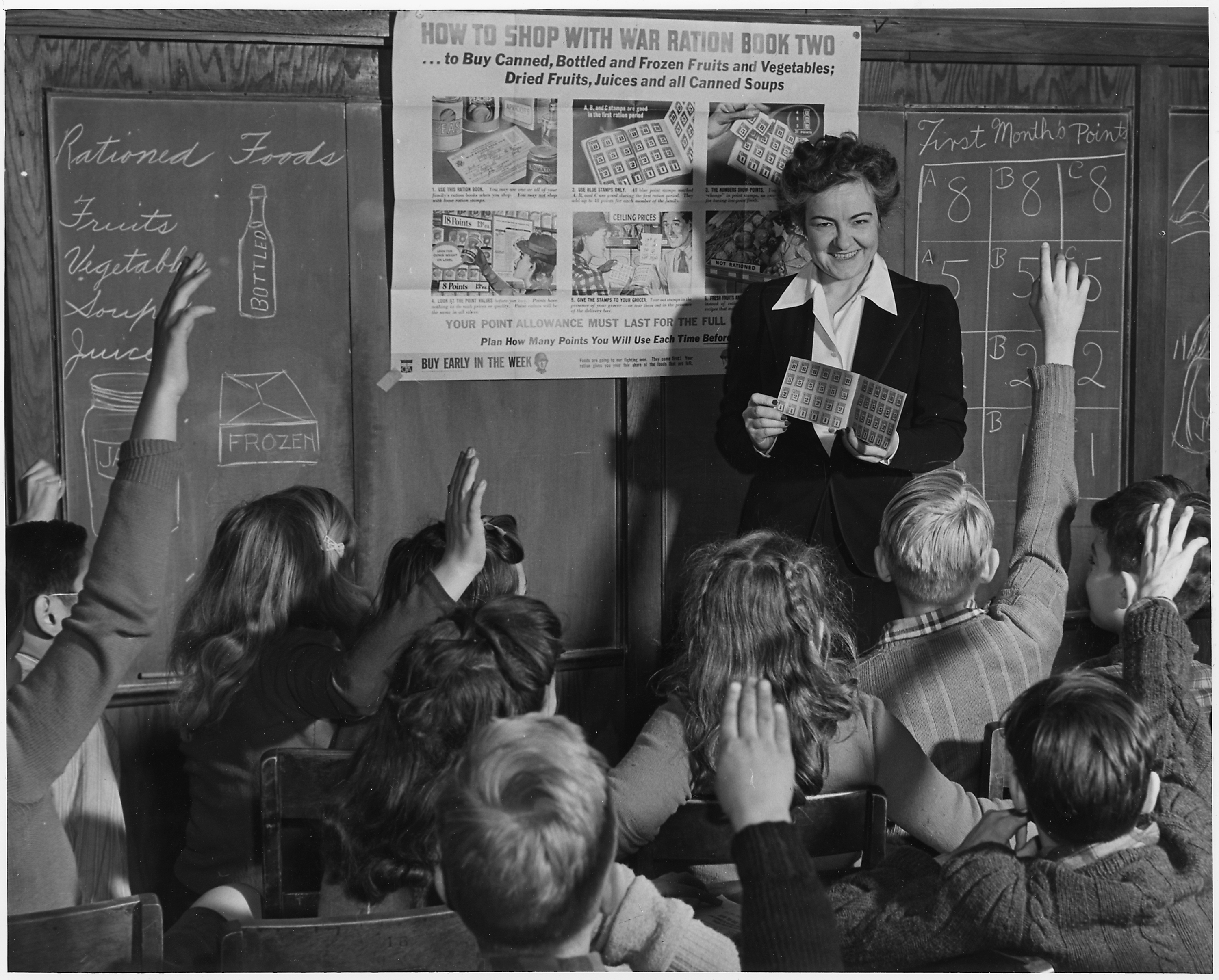 image History teacher instructs her students on sex