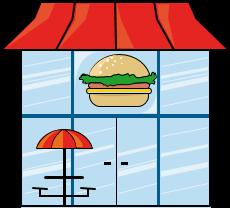 Fast food clipart vector | Food clipart, Food clips, Food
