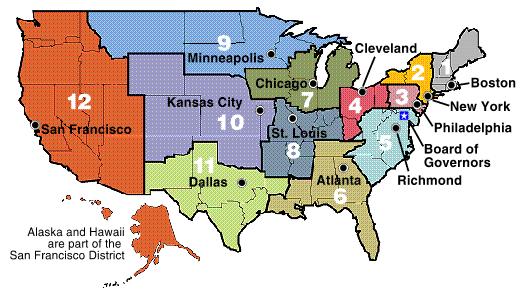 Image:Federal Reserve Districts Map.png