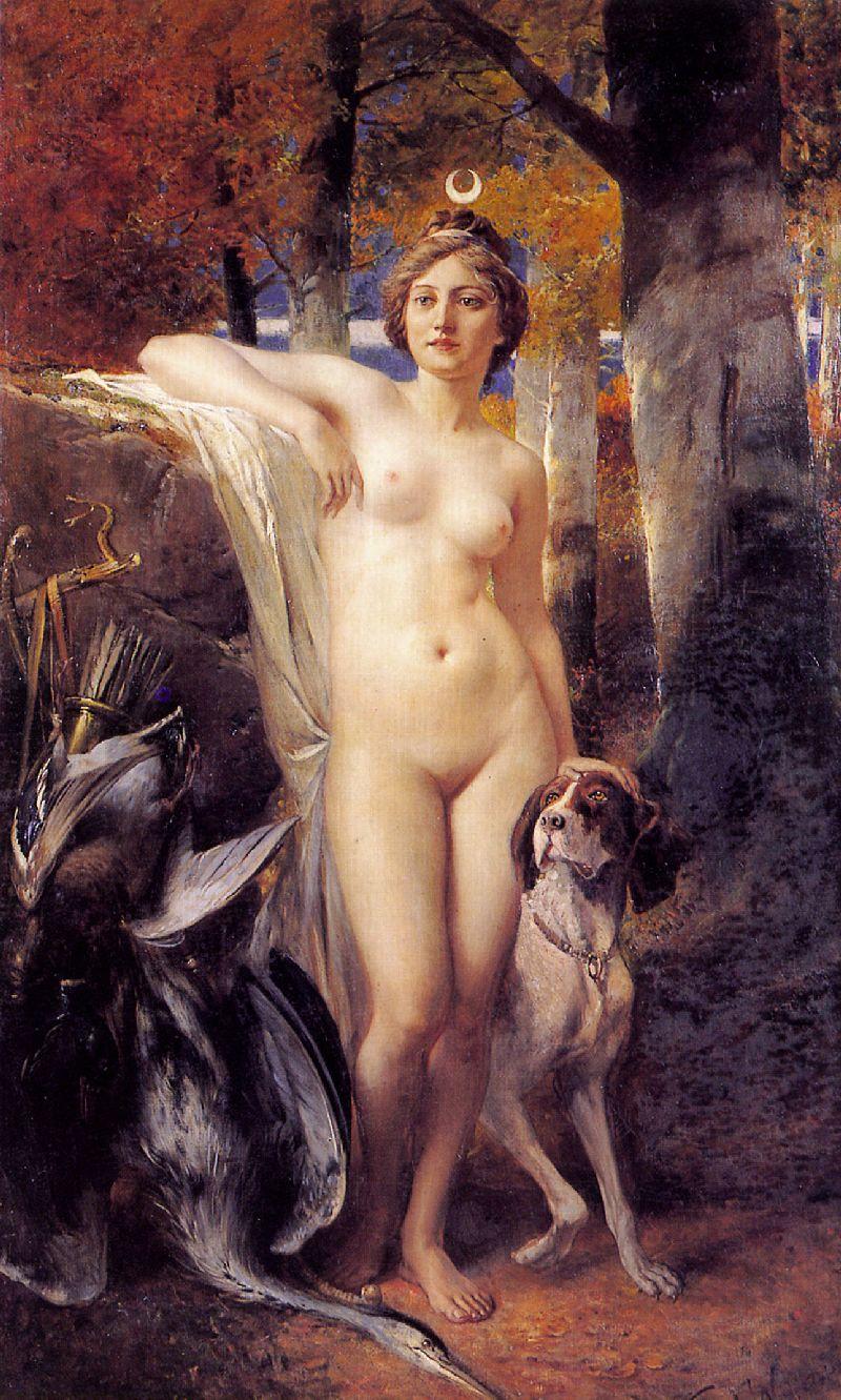 artemis-nude-art