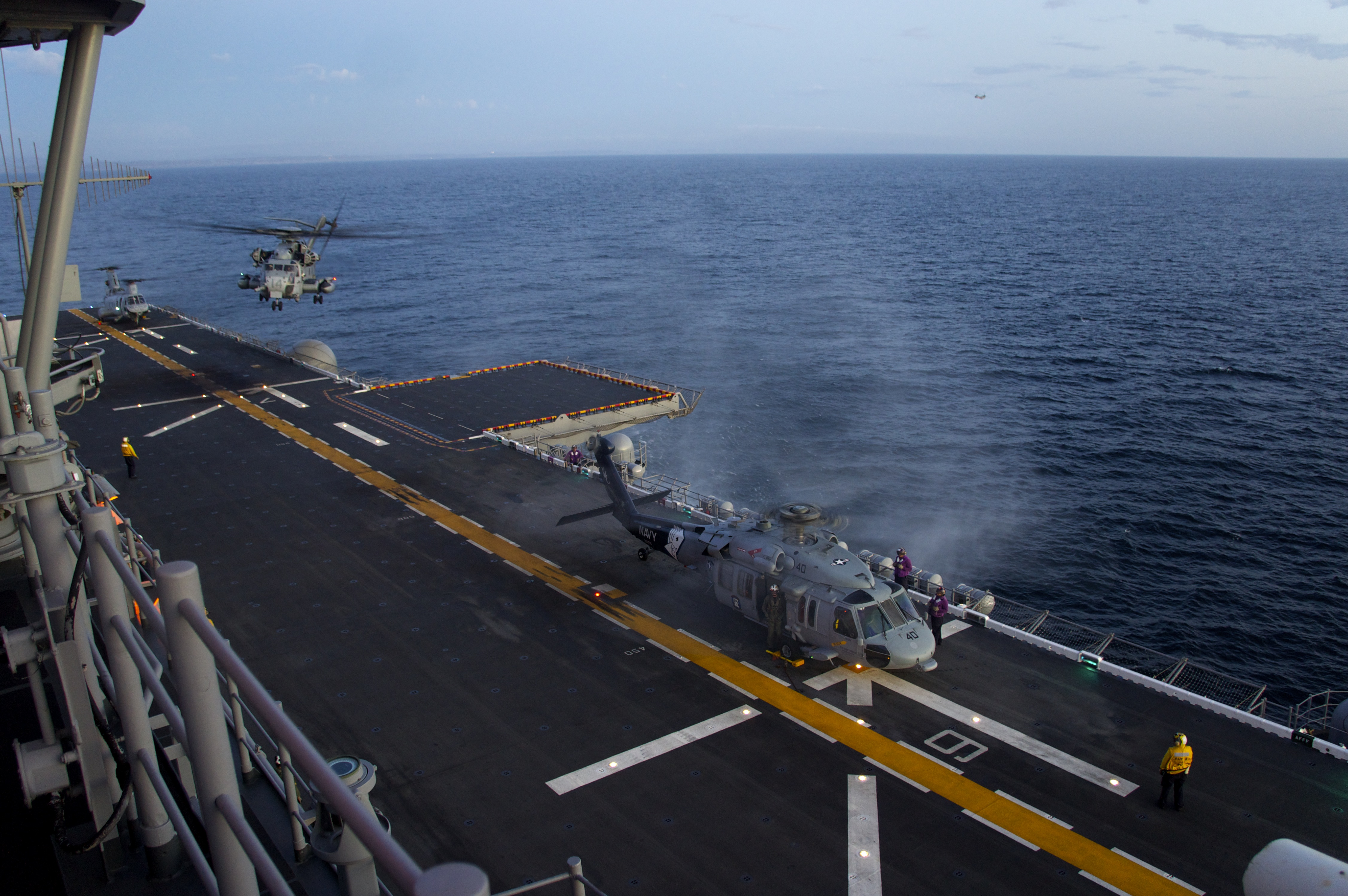 File:Flickr - Official U.S. Navy Imagery - Marines assigned to ...