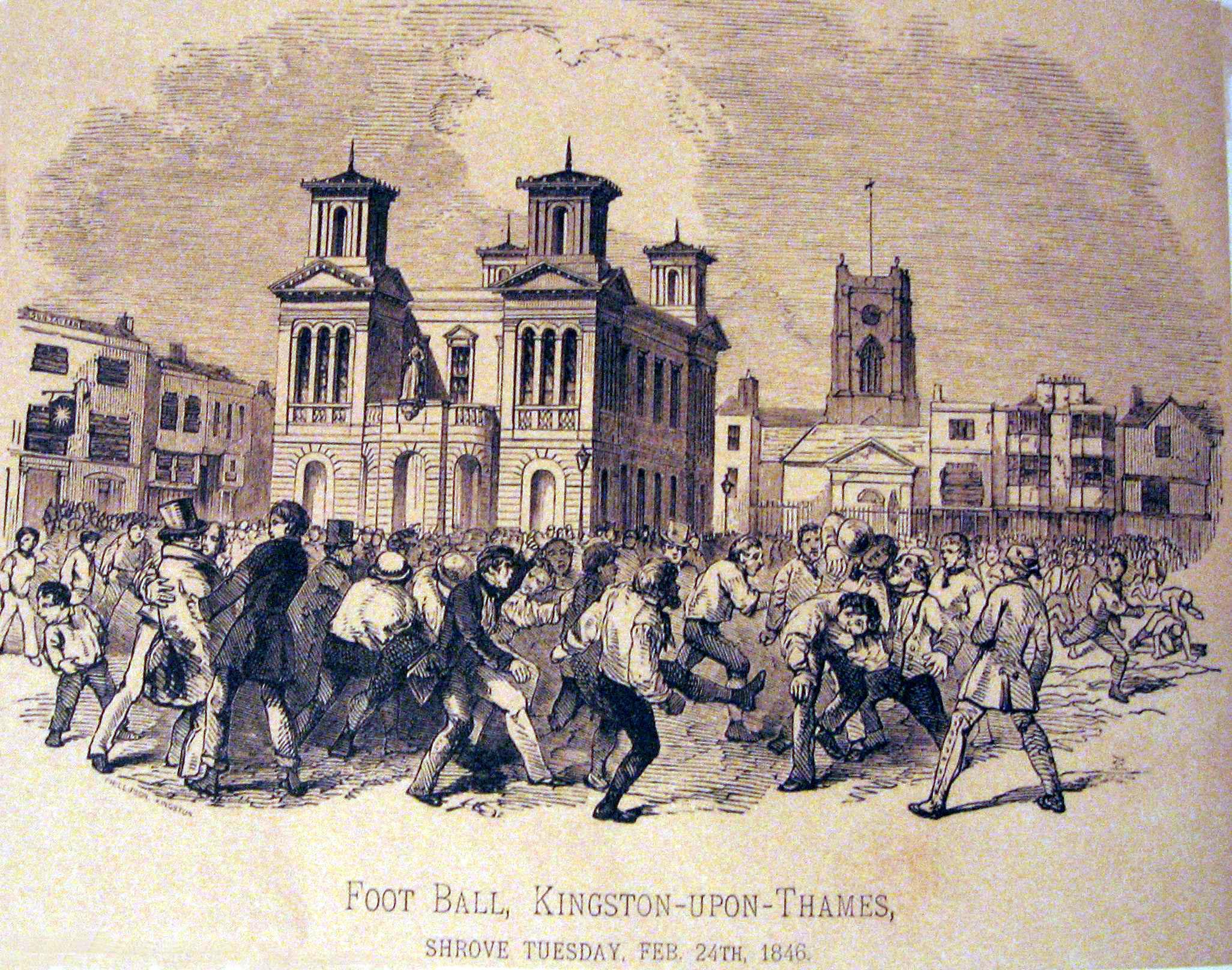 Розвиток футболу в англии история