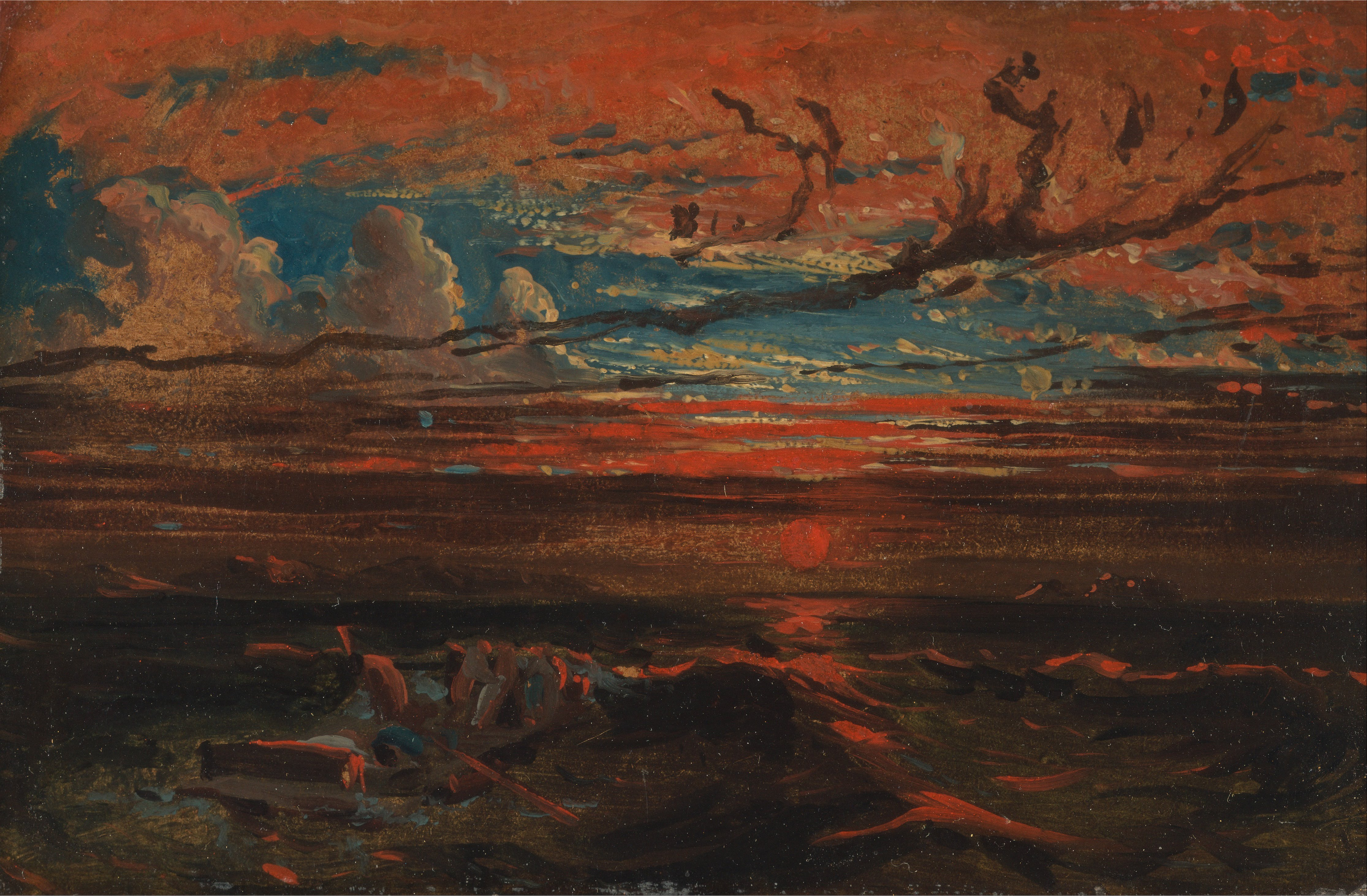 File:Francis Danby - Sunset at Sea after a Storm - Google Art Project ...Acrylic Paintings Sunset