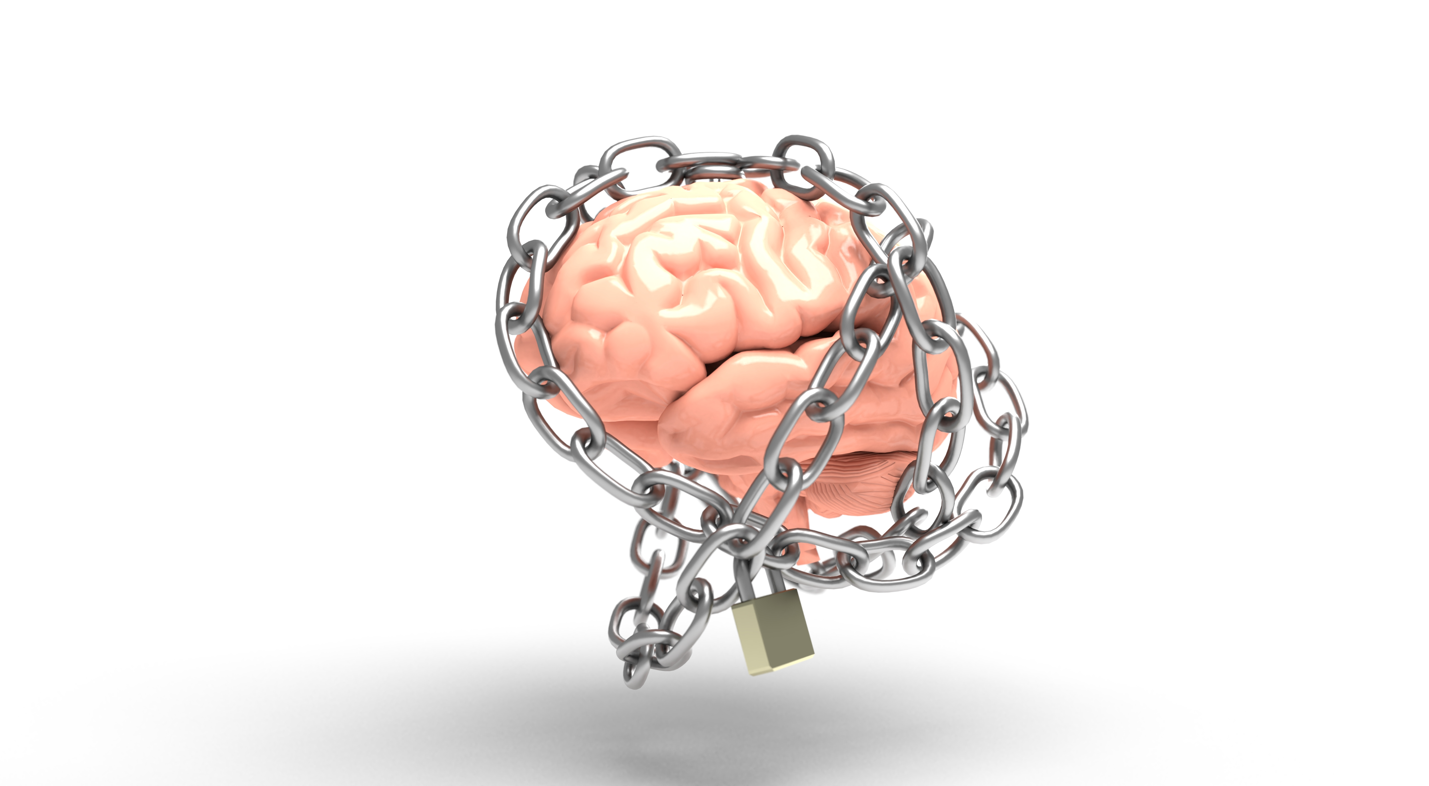 File:Free 3D Illustration Of A Mental Health Conceptual Image By ...