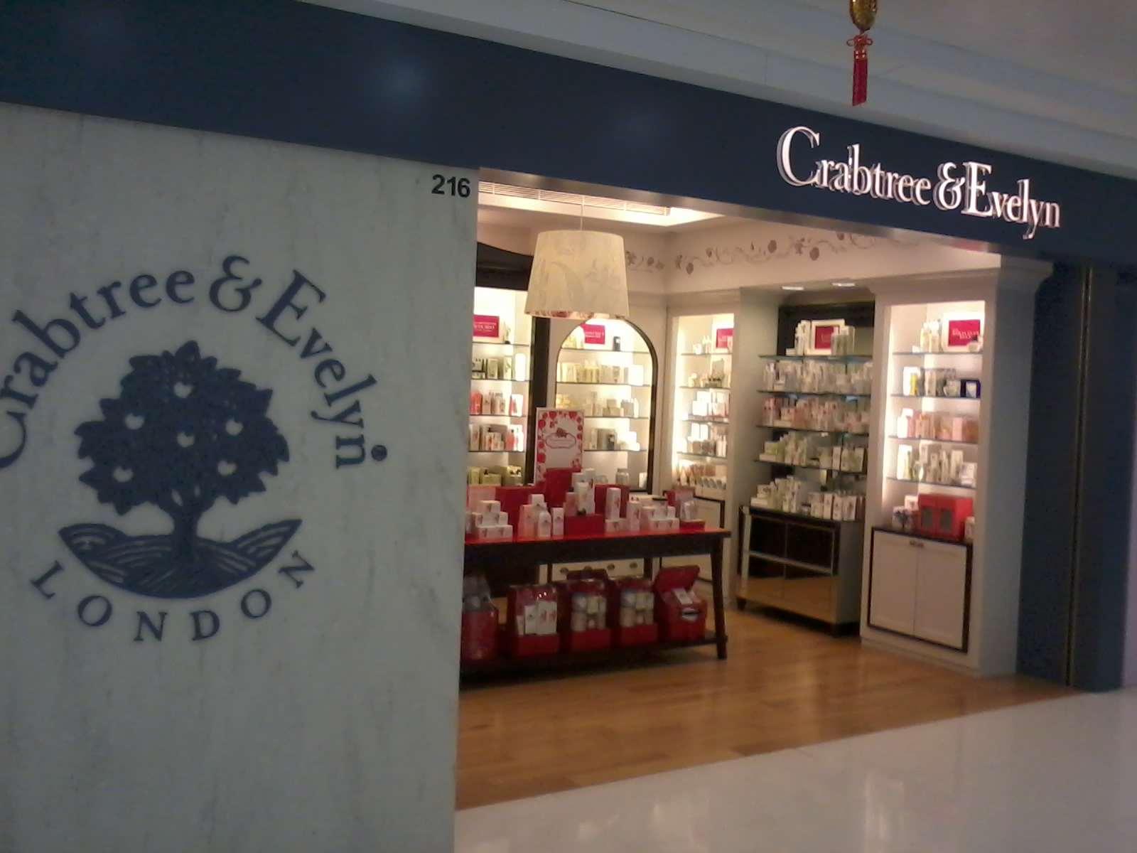 HK Tai Po Mega Mall 大埔超級城 shop Crabtree & Evelyn Jan-2013