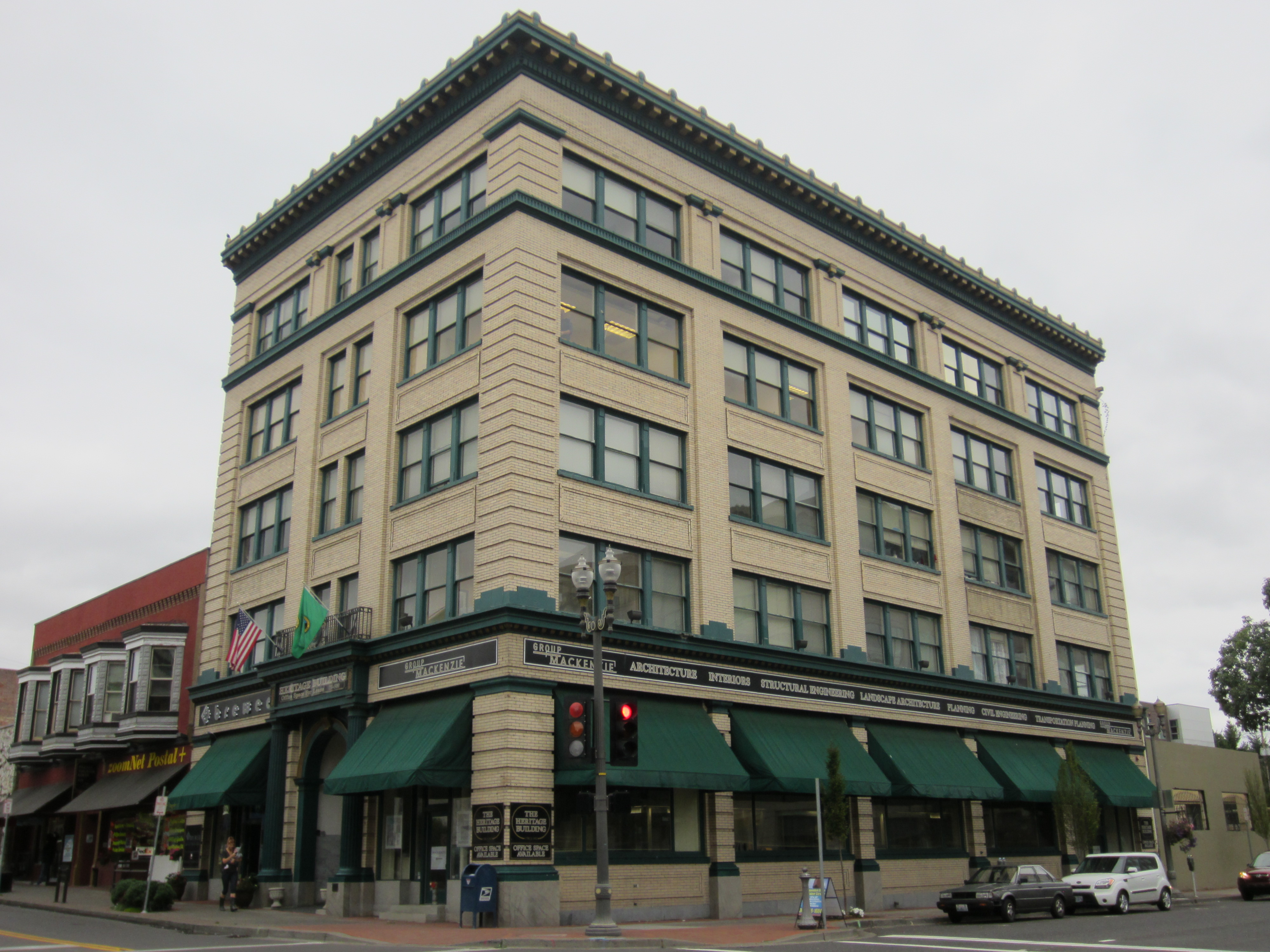 Heritage Building in Vancouver, WA