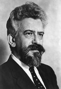 Photo of Abraham Joshua Heschel