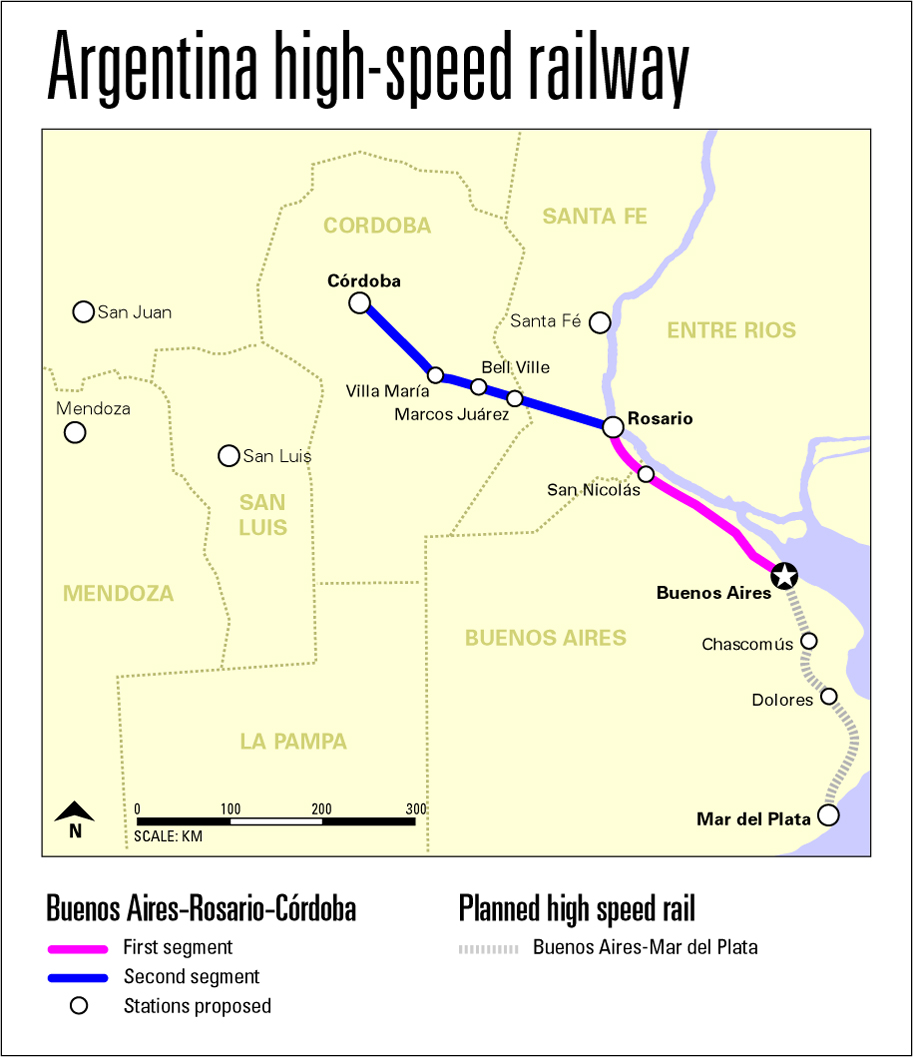 ARGENTINA Railways SkyscraperCity - Argentine railway map
