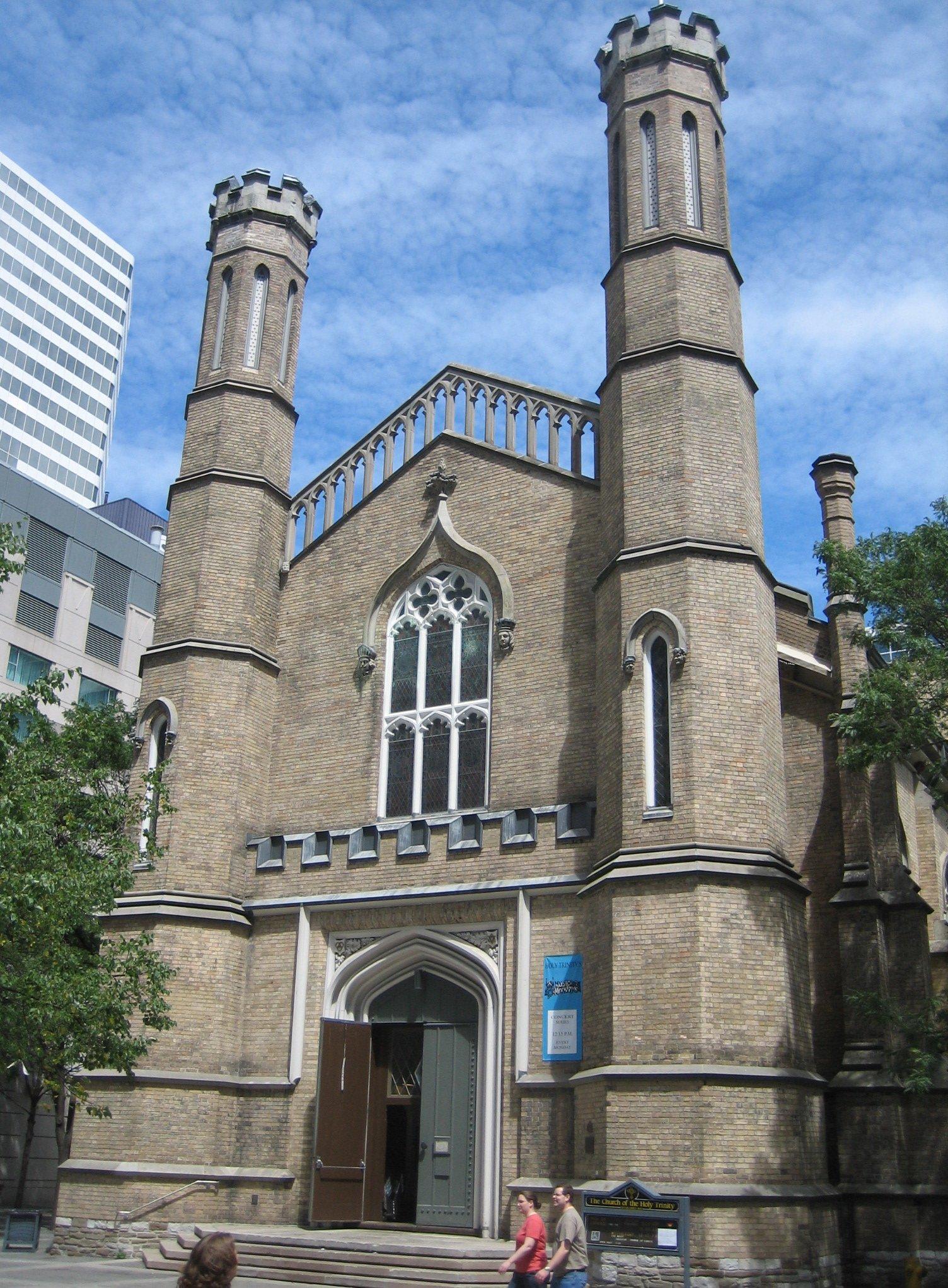 Church The Holy Trinity Toronto Wikipedia