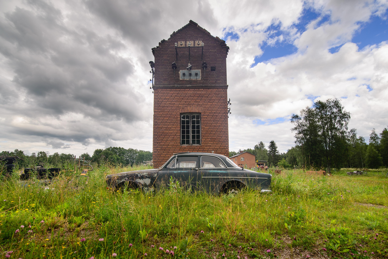 Ett nedlagt tegelbruk i Hundhagen, Leksand. Foto: Arild Vågen CC BY-SA 4.0.