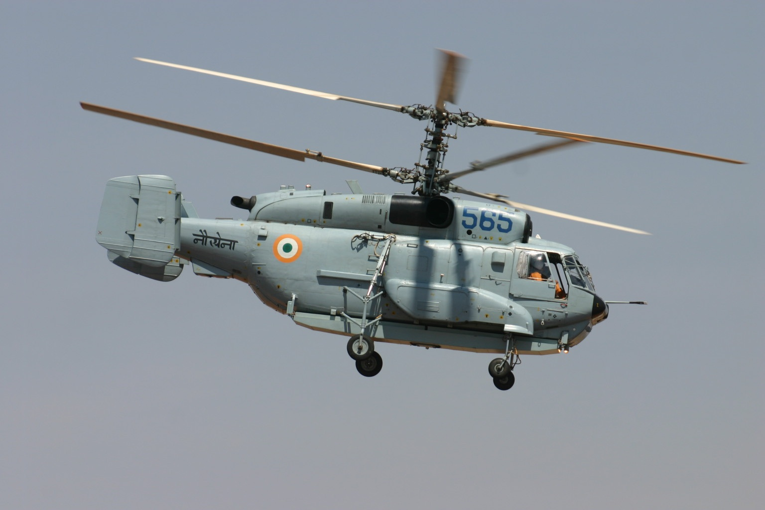 IN585 Kamov KA.28 Indian Navy (8414600528).jpg