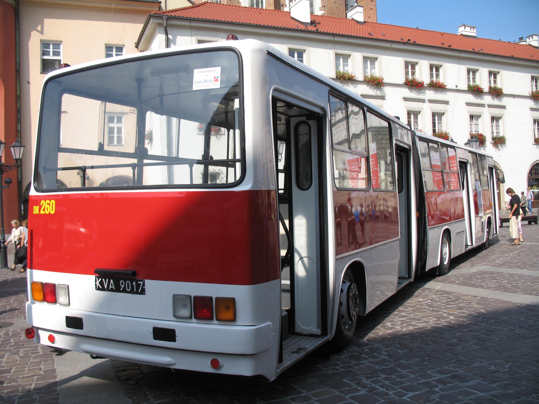 Fileikarus 280 In Kraków Rearjpg Wikimedia Commons