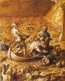 Giovanni Stradano: Der fünfte Höllenkreis
