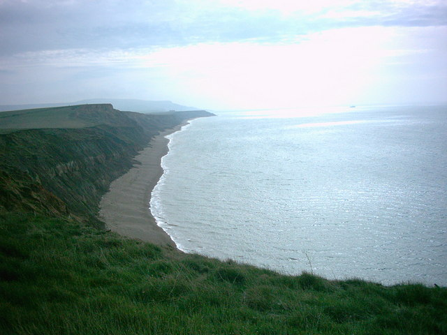 Isle of Wight Coastal Path at Brighstone Bay - geograph.org.uk - 314917