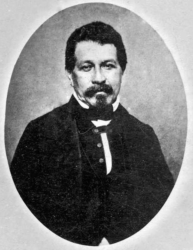 Daguerreotype of Juan José Nieto Gil