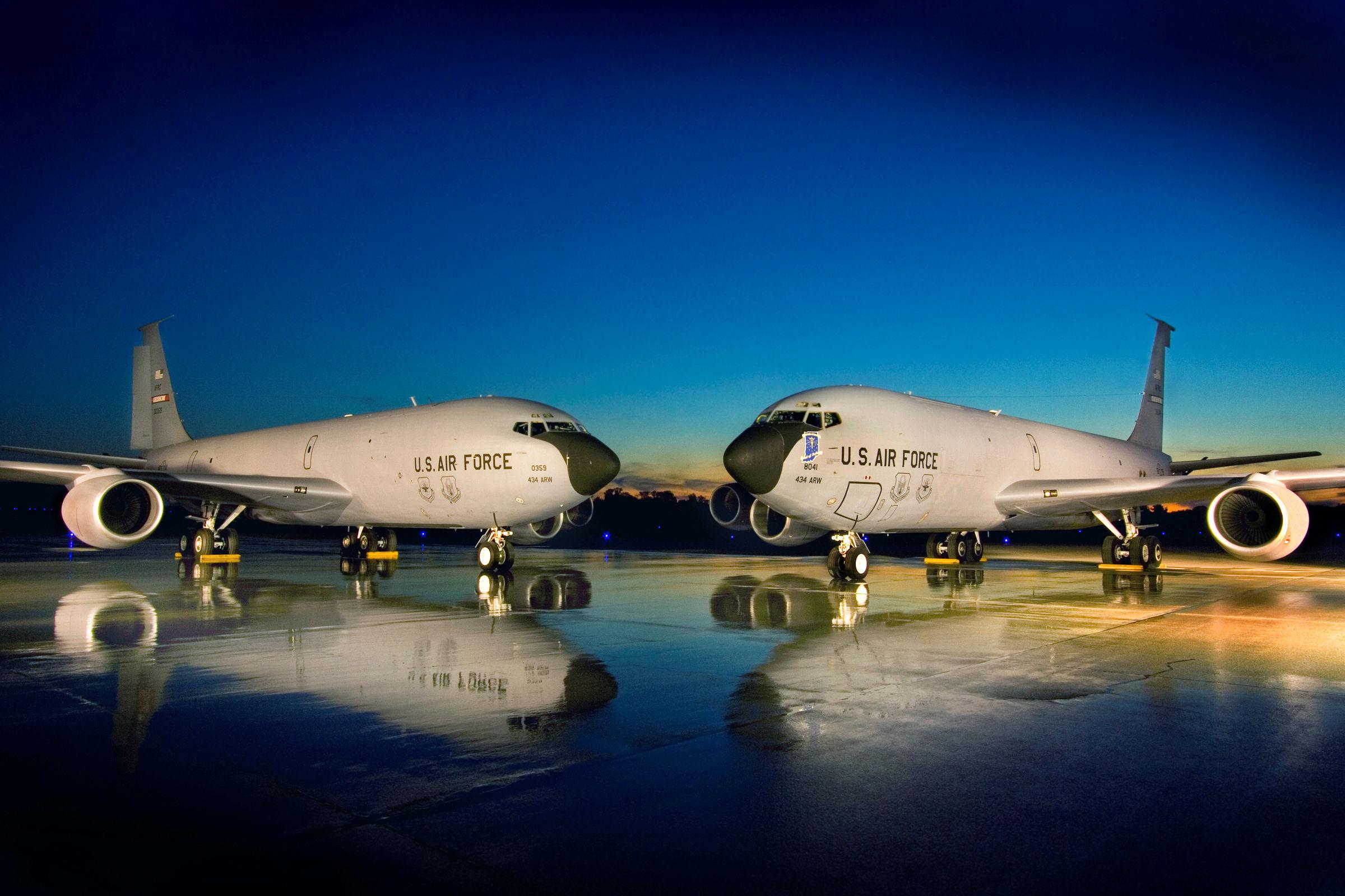 Image result for kc-135 images, grissoM ARB, IN