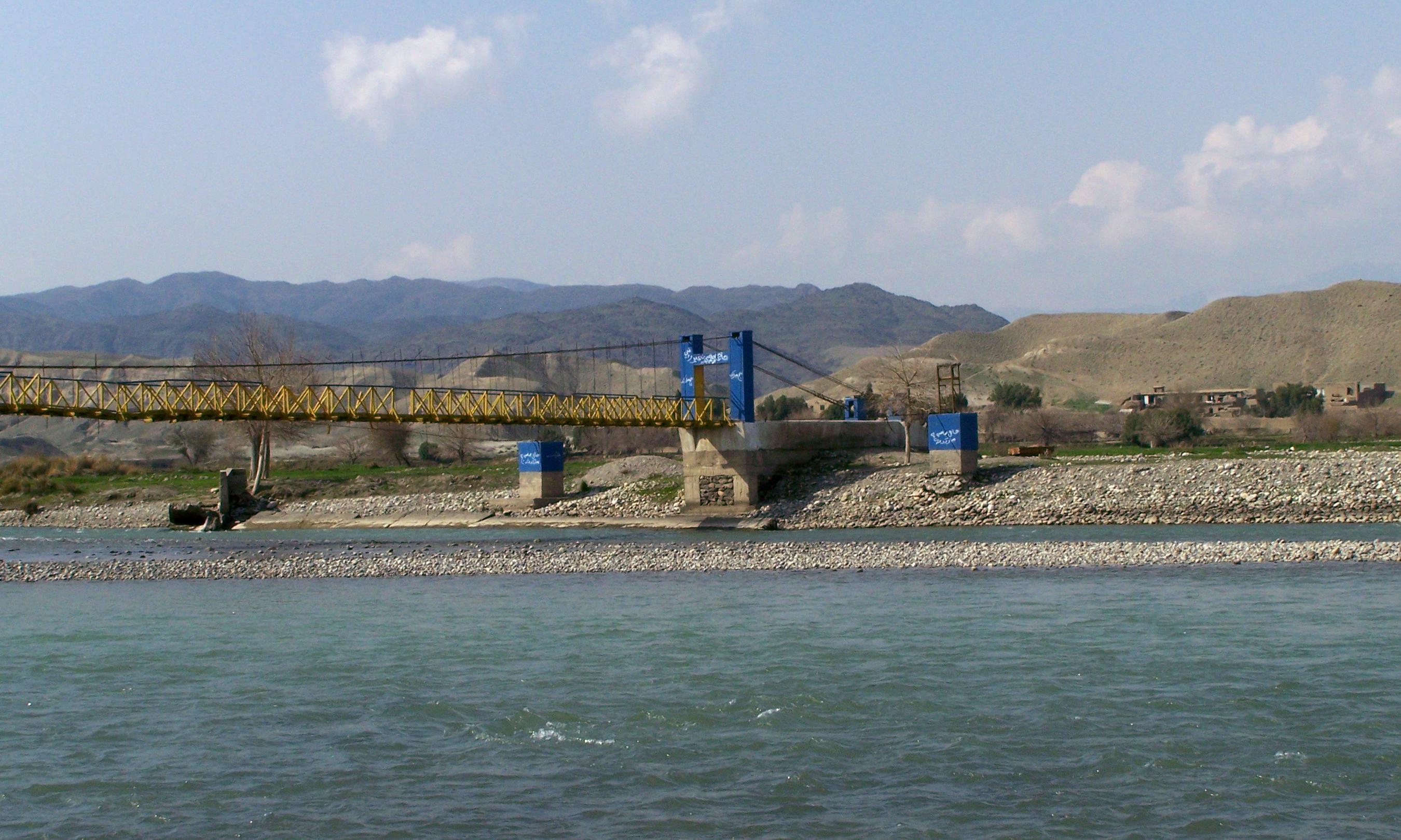 Description kabul river bridge 2