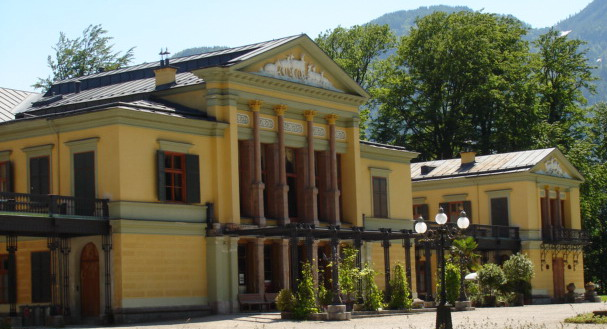 The Kaiservilla in Bad Ischl