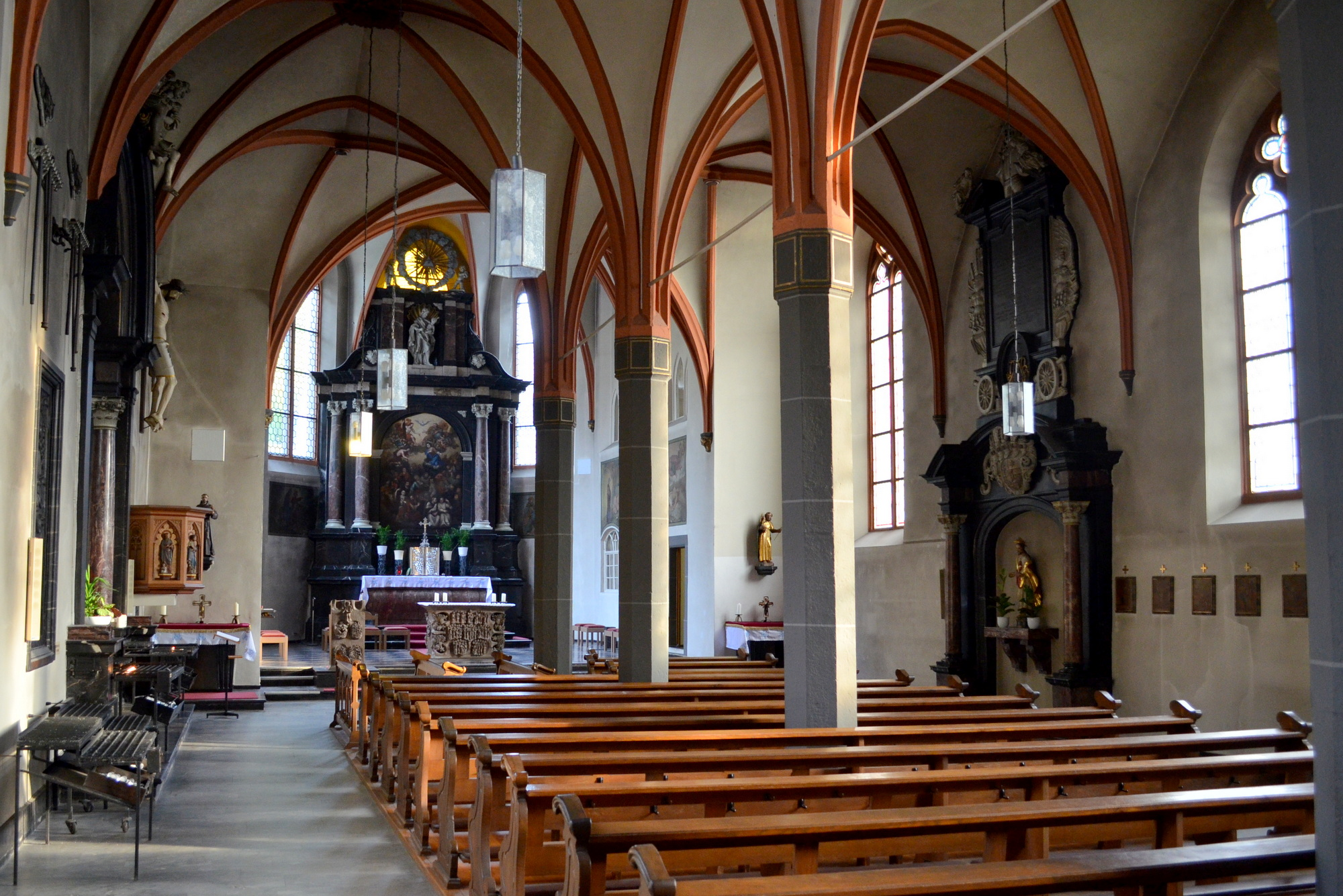 File:Kamp-Bornhofen, interieur Mariakerk.jpg - Wikimedia Commons