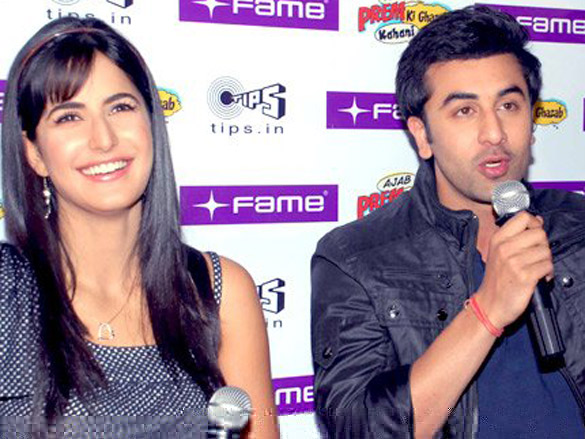 Katrina Kaif and Ranbir Kapoor at APKGK press meet