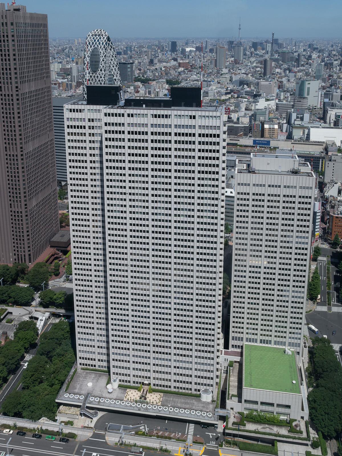 Keio Plaza Hotel To Shinjuku
