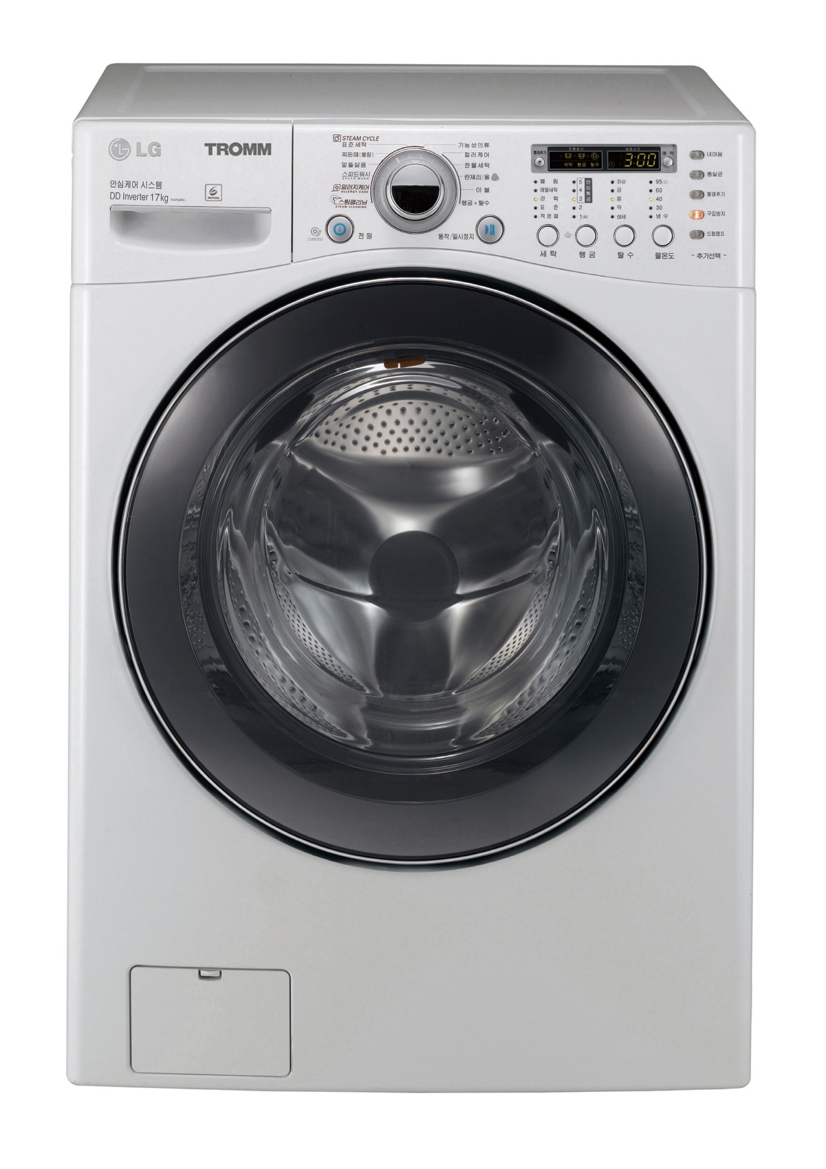 lg steam washer tromm review