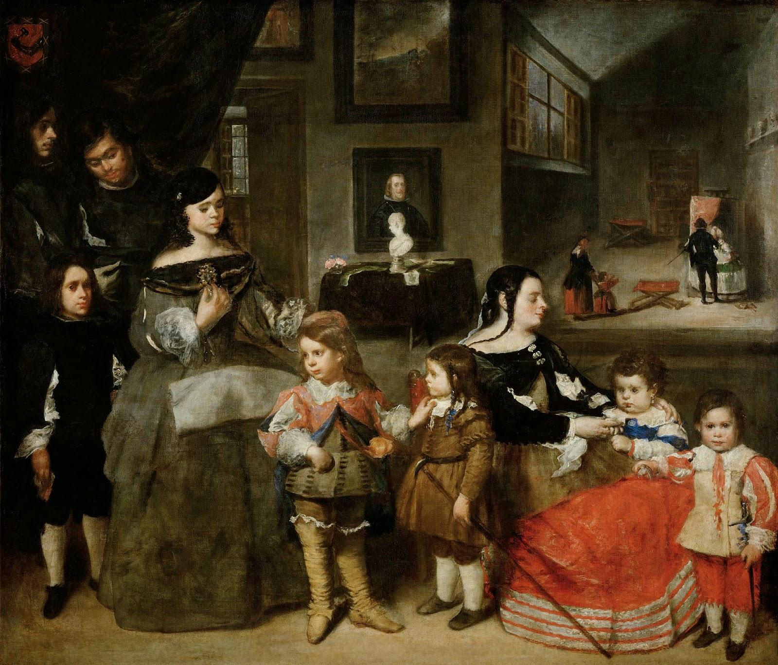 Archivo:La familia del pintor Juan Bautista Martínez del Mazo.jpg