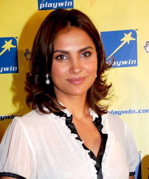 Indian actress Lara Dutta at the 2009 DVK Foun...