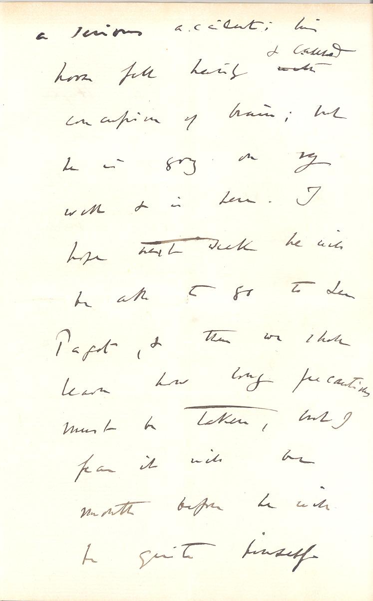 Fileletter Charles R Darwin To William Darwin Fox May 26