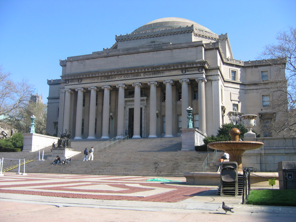 File low memorial library columbia university nyc