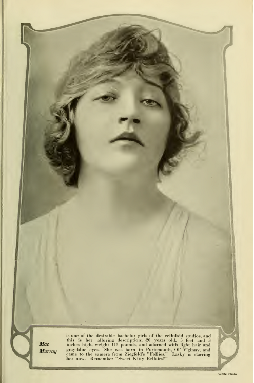 File:Mae Murray Photoplay August 1916 png - Wikimedia Commons