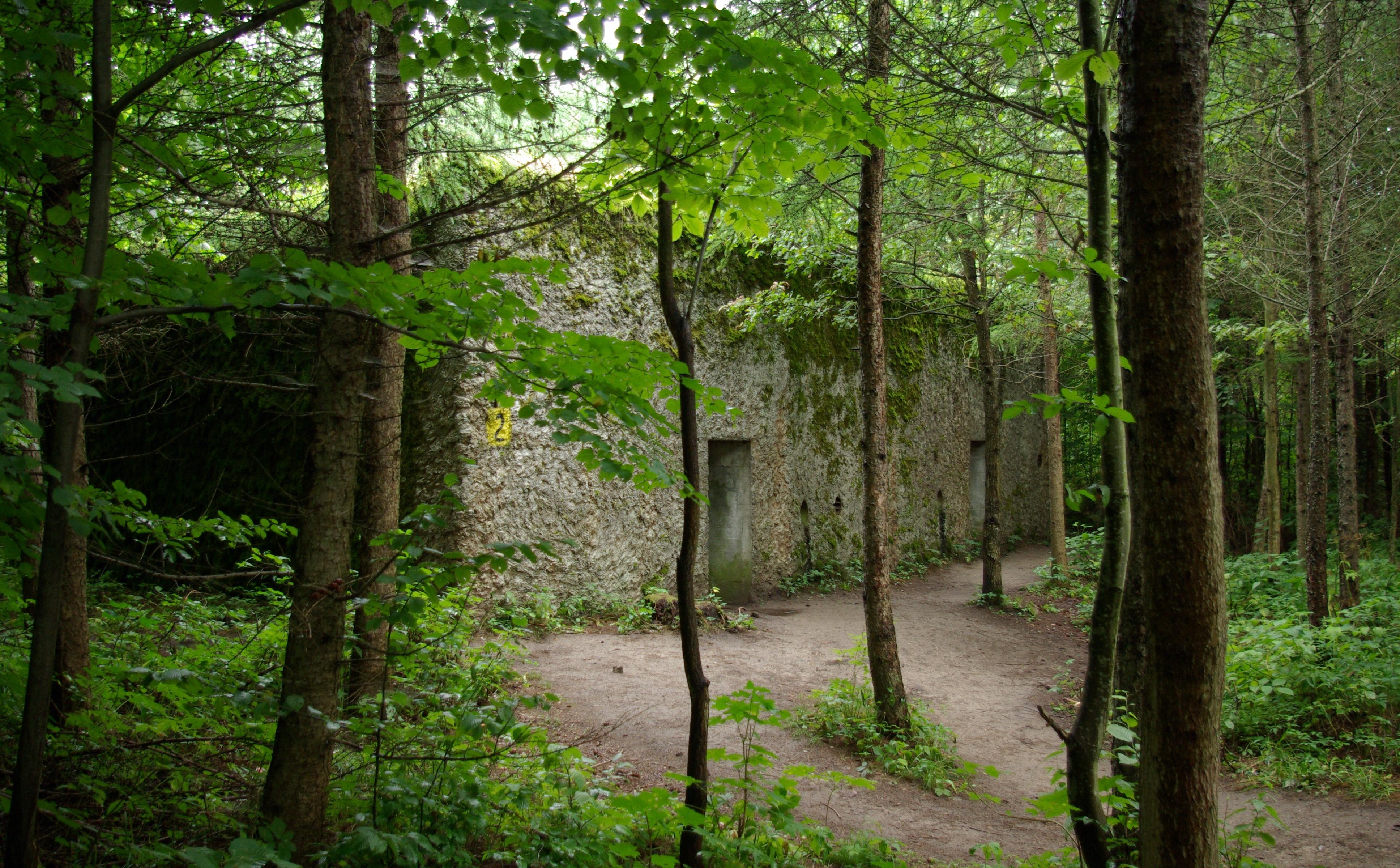 Hauptquartier des OKH Mauerwald (poln. Mamerki)