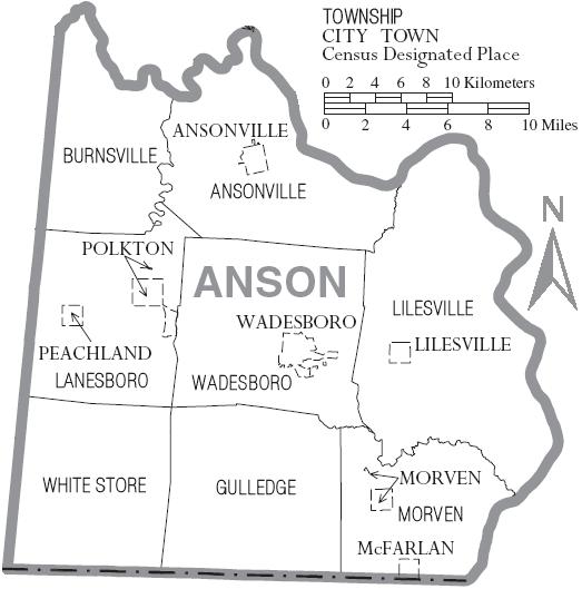 Anson County, North Carolina - Wikipedia, the free encyclopediaanson county
