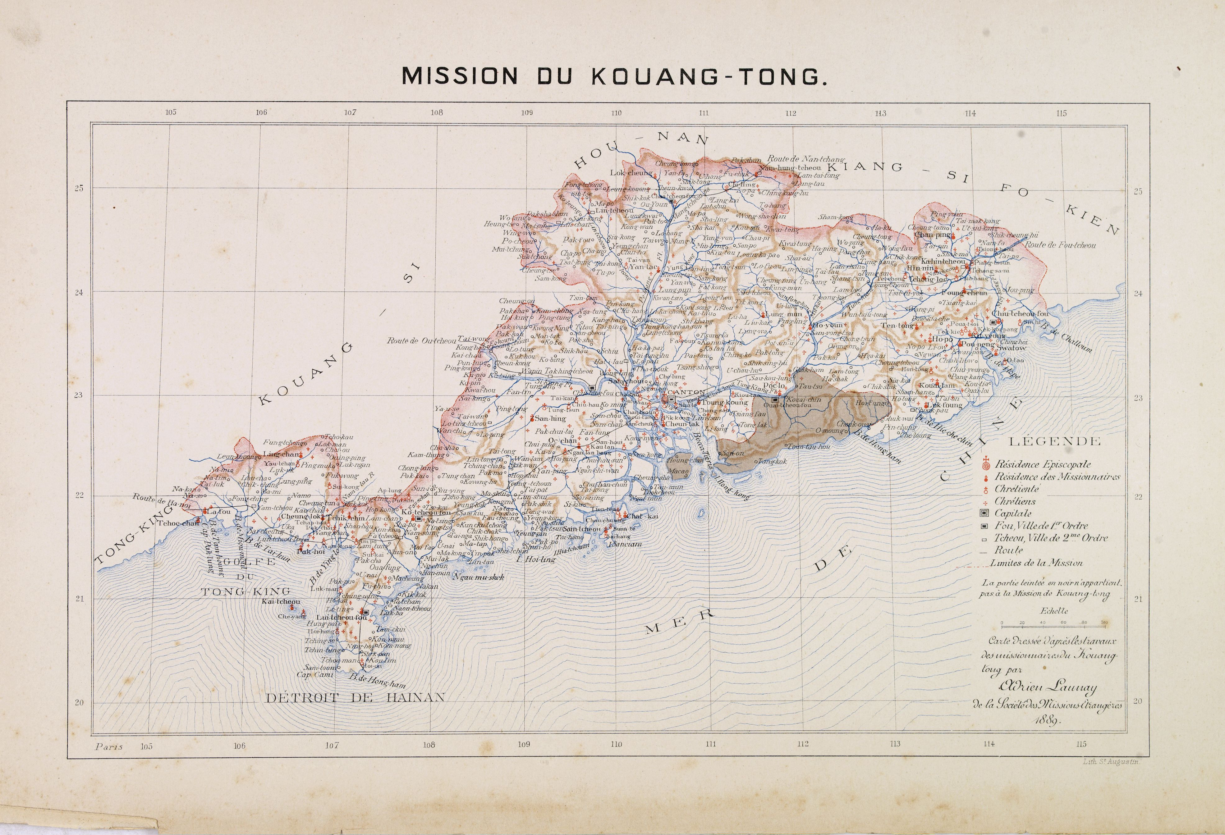 Devils Lake Nd >> File:Map of Guangdong Province, China, 1889.jpg ...