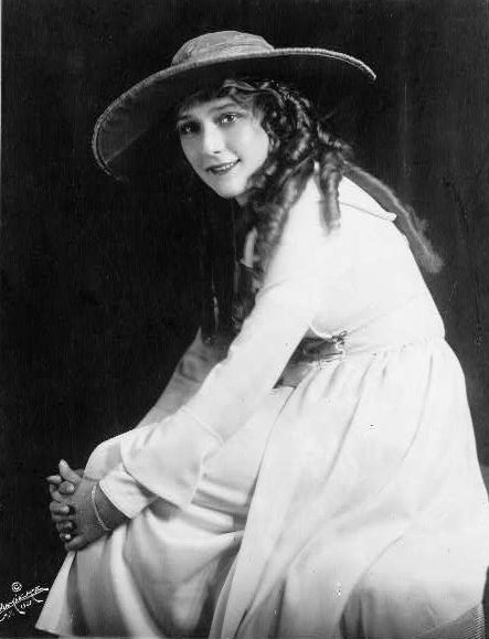 Mary Pickford portrait