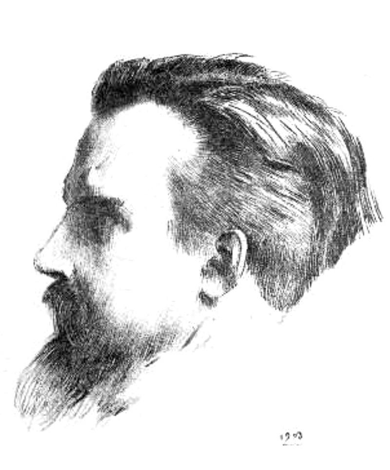 Depiction of Maurice Denis