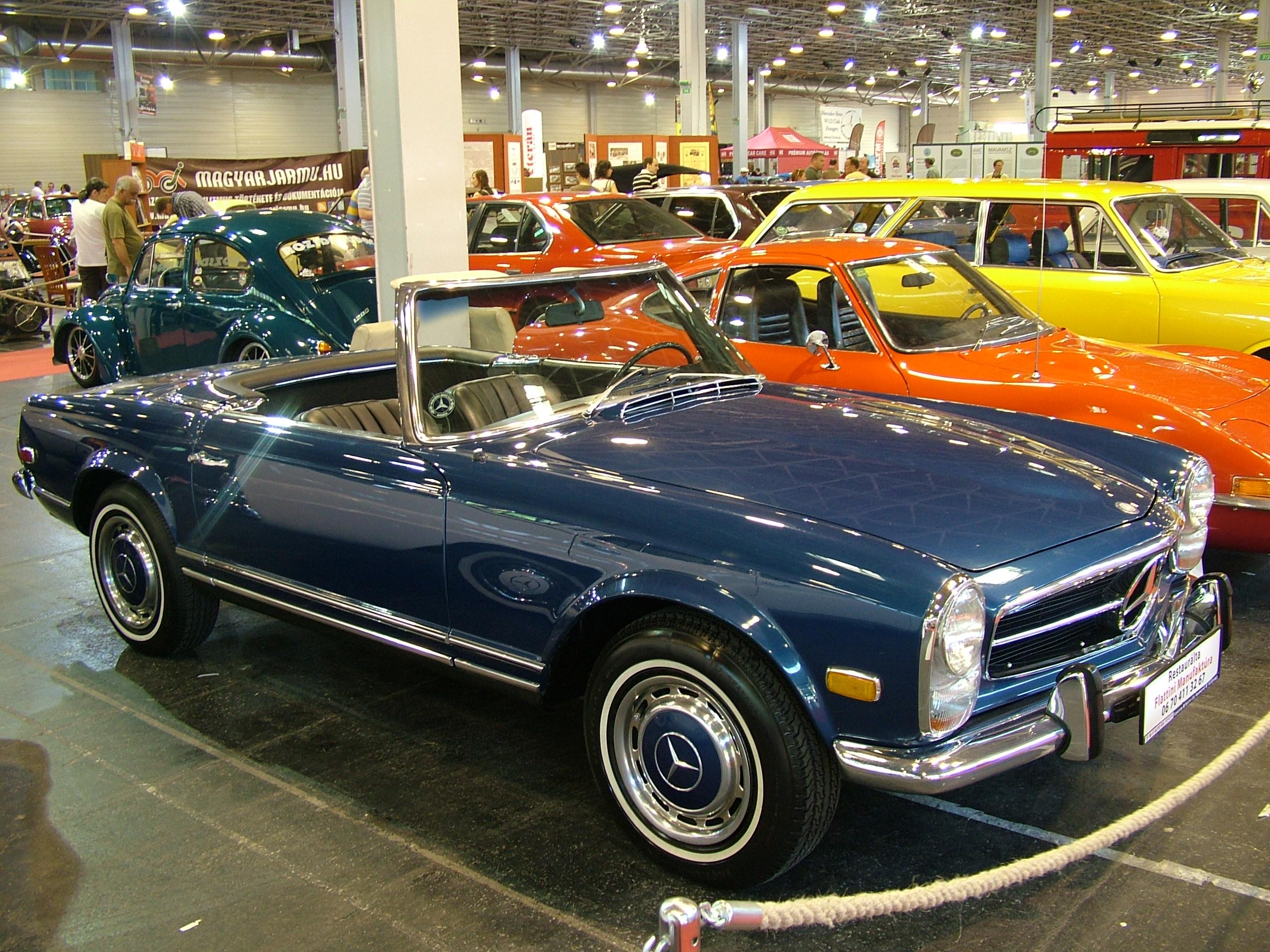 File mercedes benz 250sl 1967 6980133958 jpg for Mercedes benz 250sl