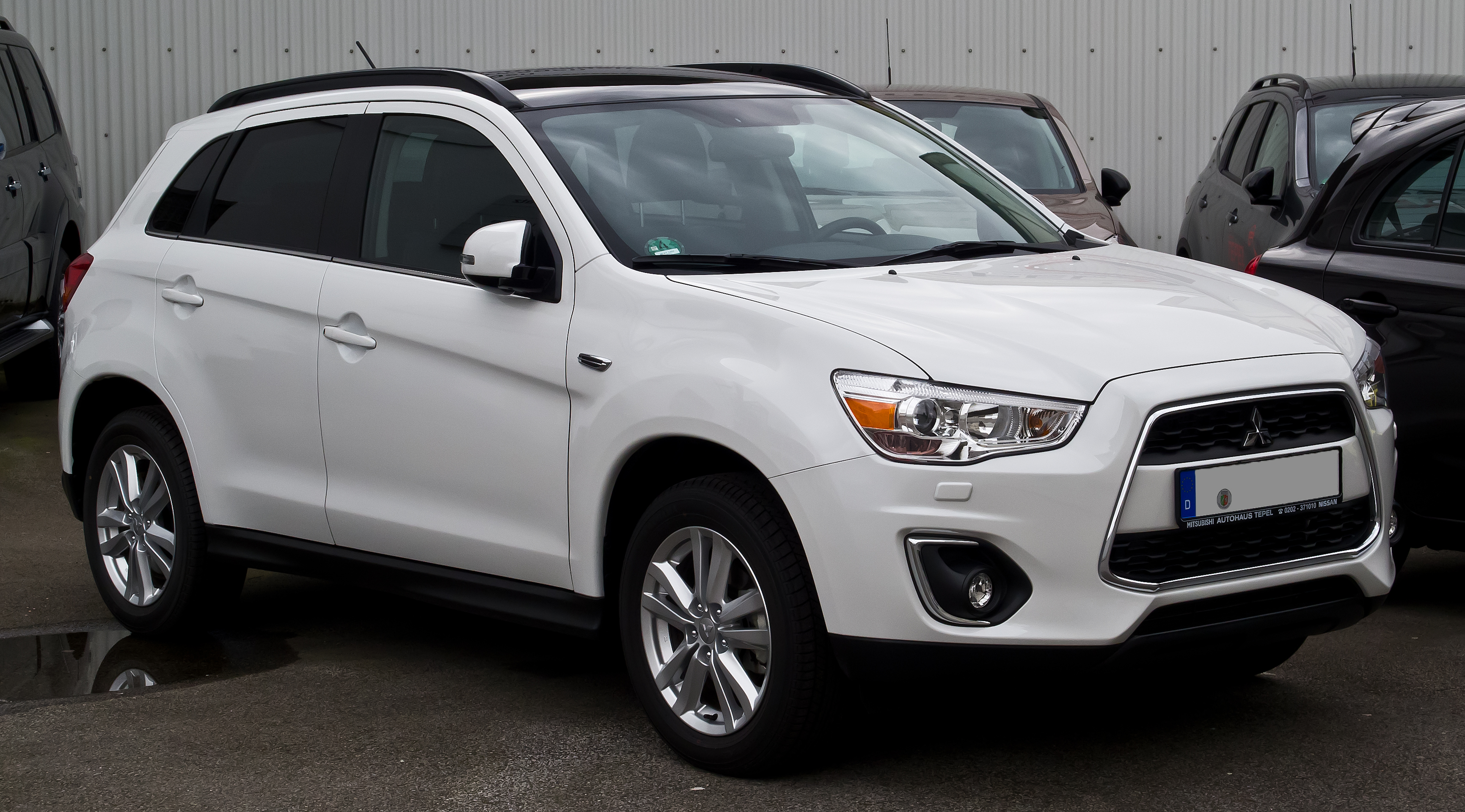 File Mitsubishi Asx 1 8 Di D Cleartec 4wd Instyle Facelift Frontansicht 1 M 228 Rz 2014