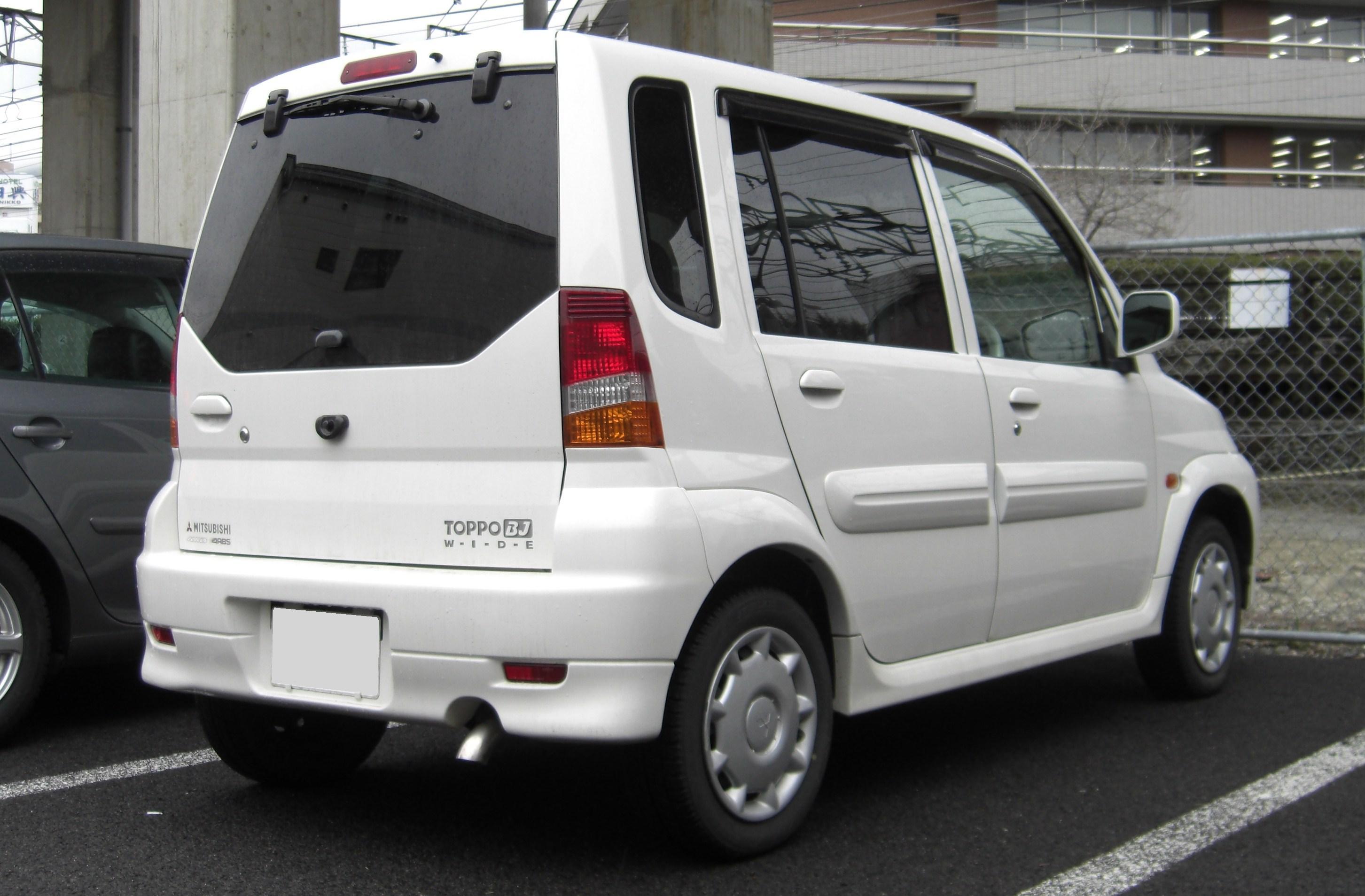mitsubishi toppo 2009
