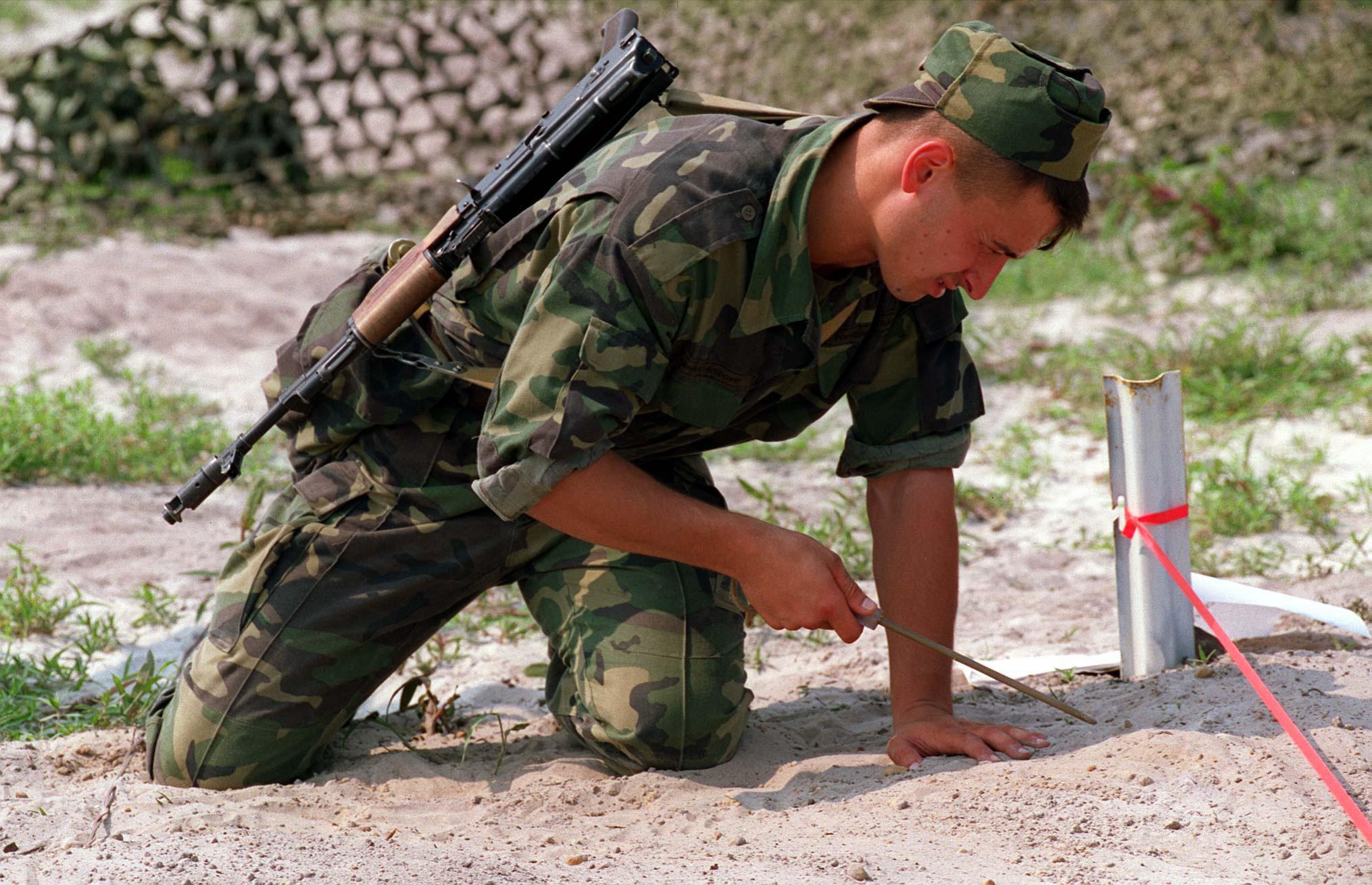 Description moldovan soldier