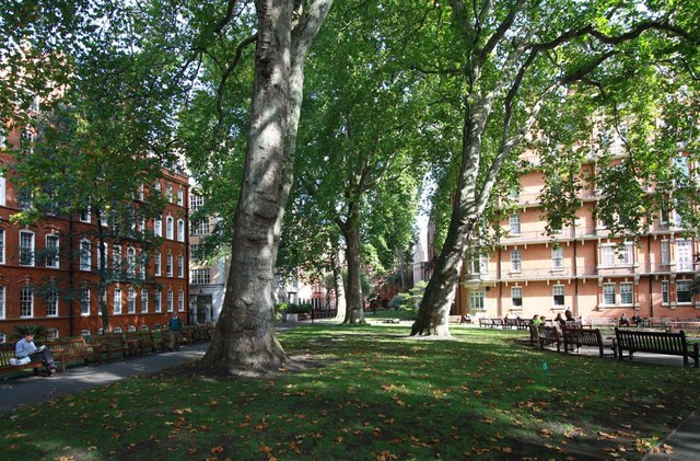 File Mount Street Gardens London W1 Geograph Org Uk