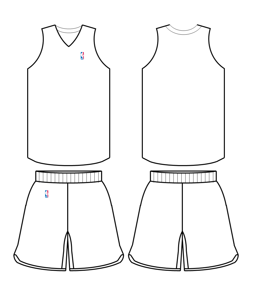 nba jerseys coloring pages - photo#2