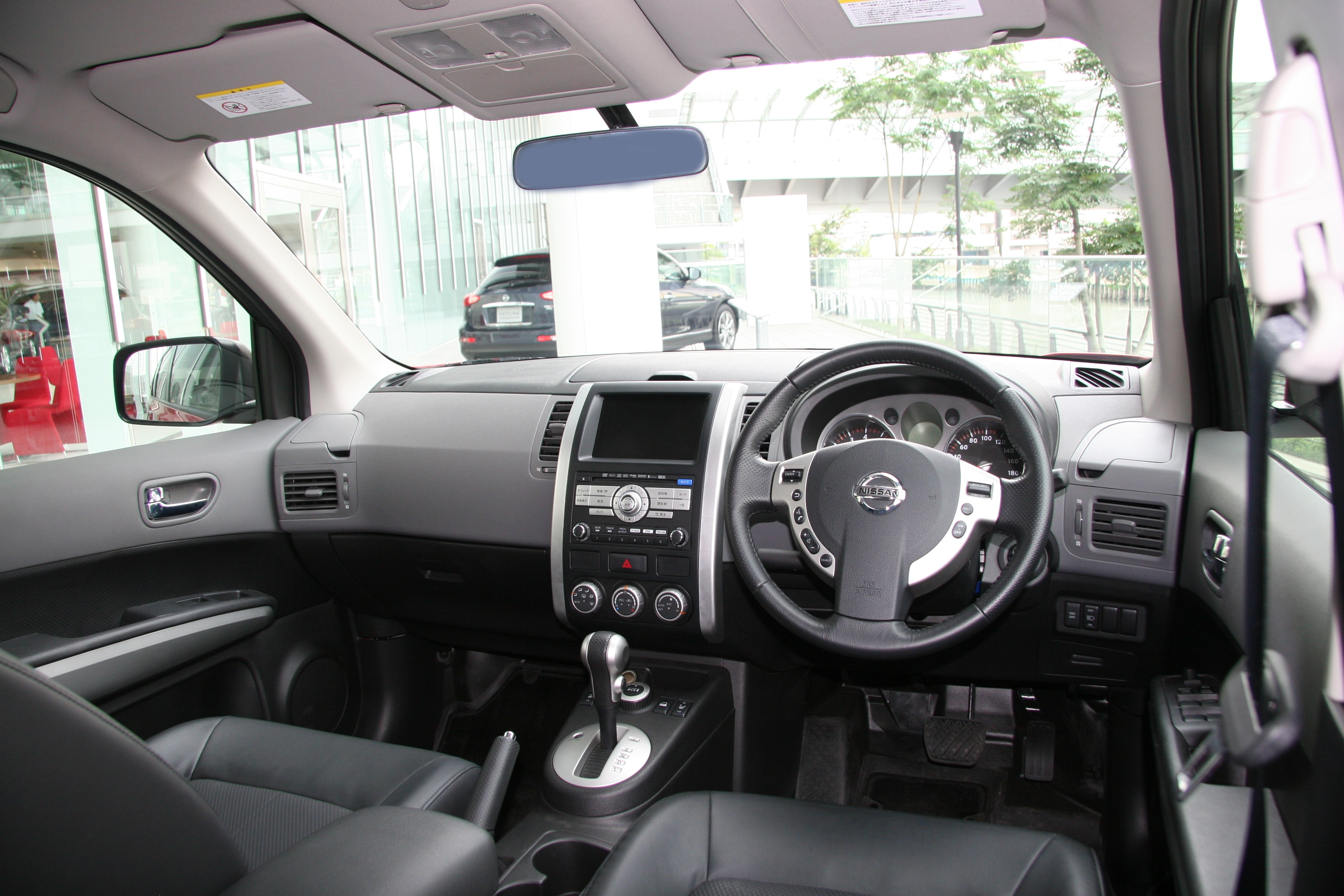 File nissan x trail t31 wikimedia commons for Nissan x trail interior
