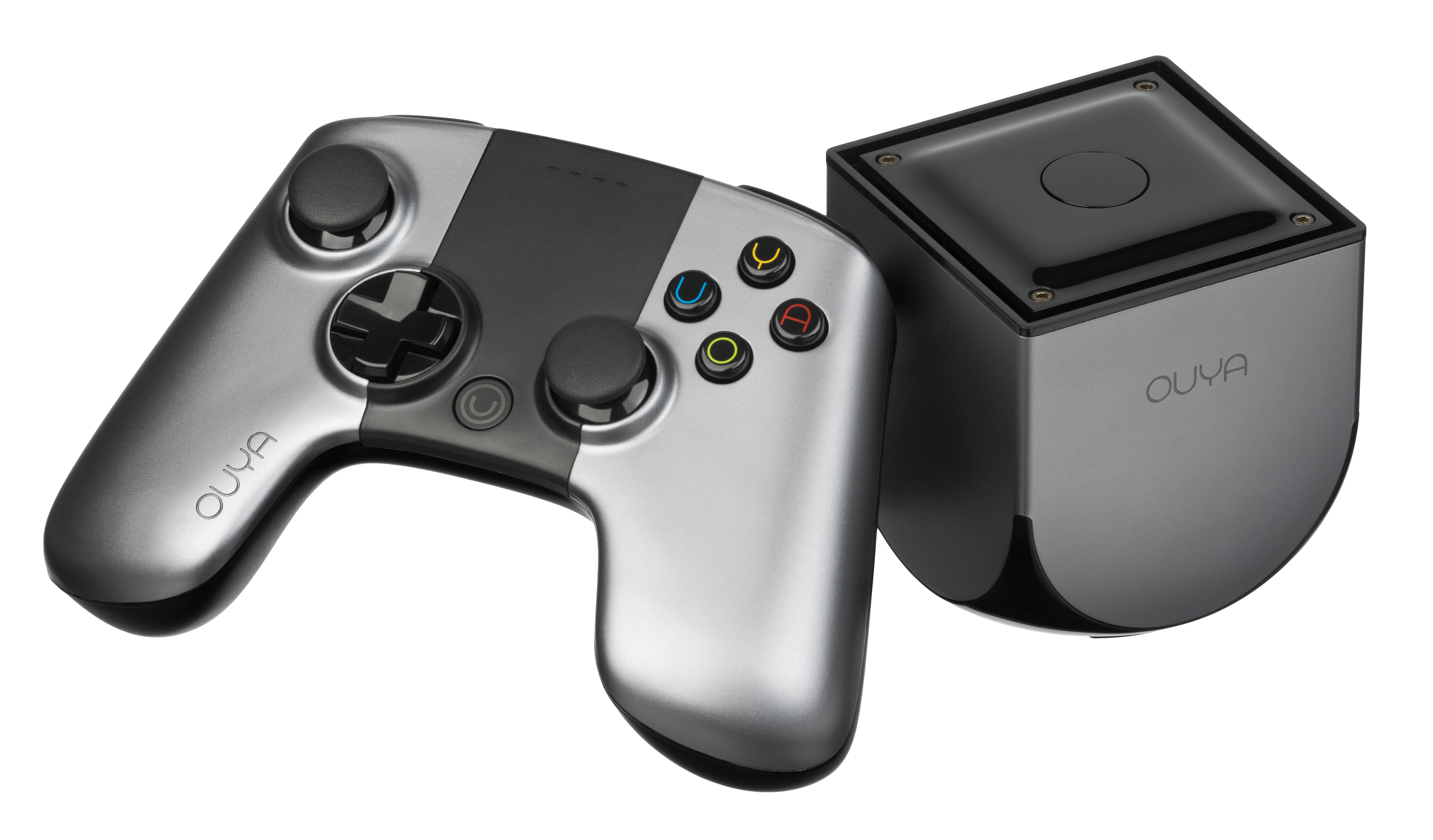 OUYA with controller Ouya Console