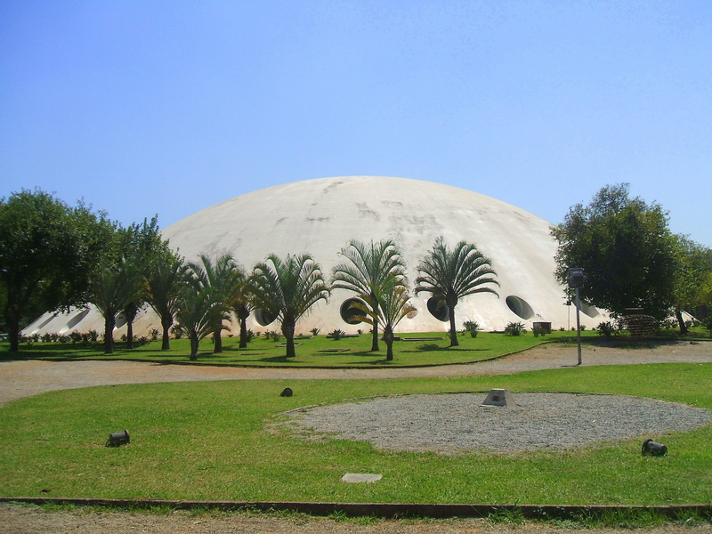 A Photo of the Oca Building by Niemeyer
