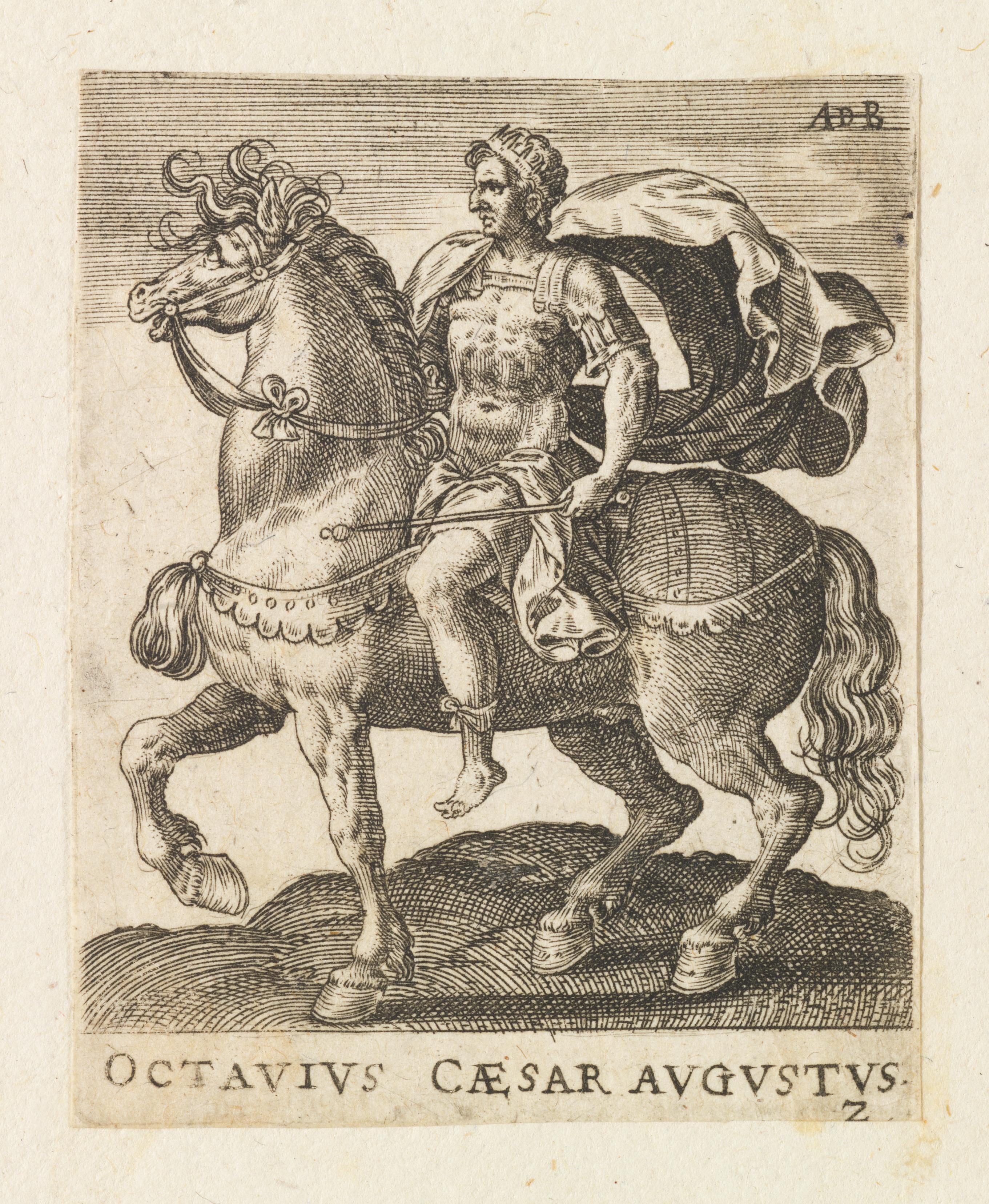 File:Octavius Caesar Augustus from Twelve Caesars on Horseback MET DP-1341 -001
